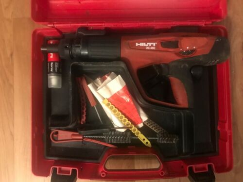 Hilti DX 460 Powder Actuated Fastening Tool