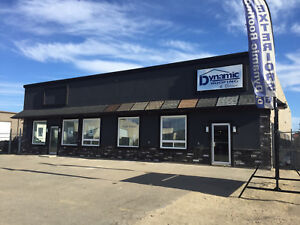 HIGH EXPOSURE INDUSTRIAL  541 DEWDNEY AVENUE EAST WITH COMPOUND