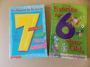 Books x 2: Stories for 6 year olds & It's Heaven to be 7 Parkinson Brisbane South West Preview