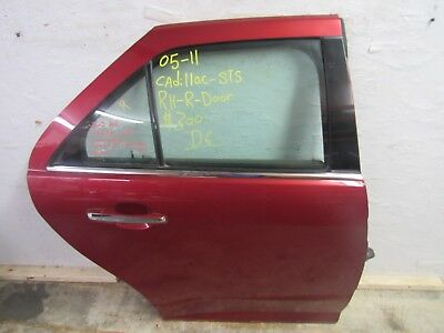 2005-2006-2007-2008-2009-2010-2011 CADILLAC-STS RIGHT REAR DOOR