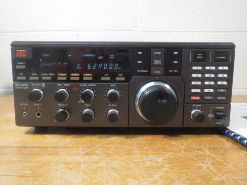 JRC NRD-525 LW MW SW AM SSB CW Shortwave Radio Receiver Documentation Box