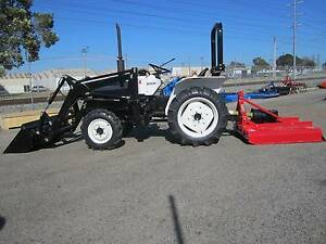 * MITSUBISHI 22HP TRACTOR OR PACKAGE  * Bentley Canning Area Preview