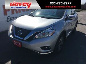 2017 Nissan Murano SV ALL WHEEL DRIVE, NAVIGATION, REMOTE START