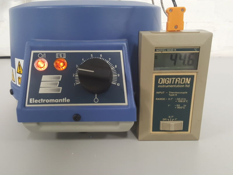Electrothermal EM0500/CE Electromantle Heating Mantle Lab 500mL