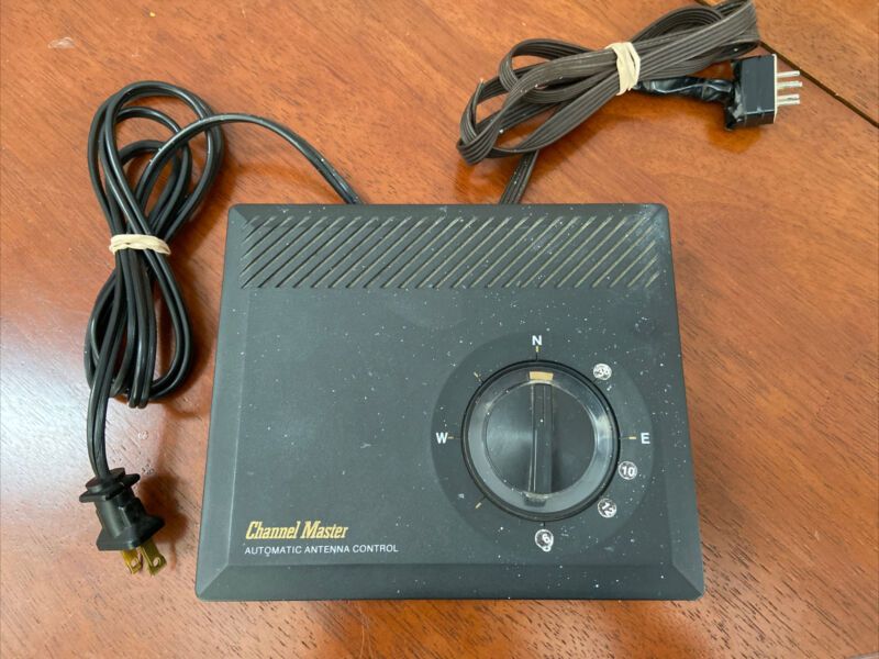 Channel Master 9510A Automatic Antenna Control Rotor Controller Rotator