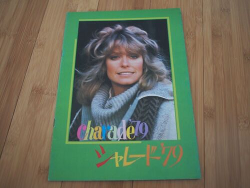 Farrah Fawcett Japan Booklet Program CHARADE 79 Somebody Killed Her Husband