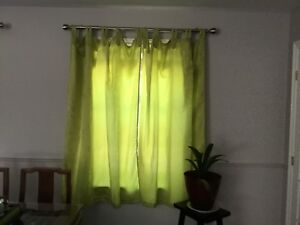 like new curtain two panels
