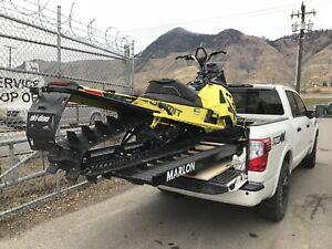 Marlon single loader sled/atv deck. New! Interesting trades?