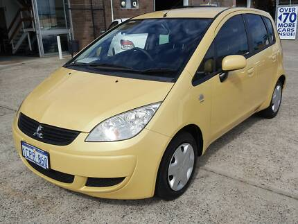2007 Mitsubishi Colt Hatch 5 Door 78kms Manual Books/History Wangara Wanneroo Area Preview