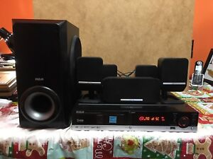 RCA RTD217 5.1 Channel Home Theatre System with Remote