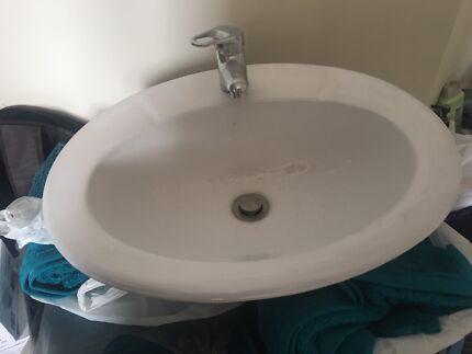 Bathroom Sinks Gumtree bathroom sink, vanity, tap | other home & garden | gumtree