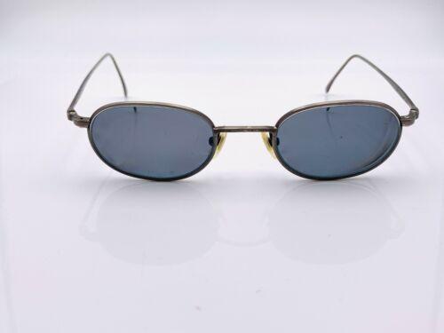 Vintage Calvin Klein 504 Gray Titanium Oval Sunglasses FRAMES ONLY