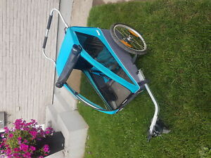 Thule bike carrier and stroller