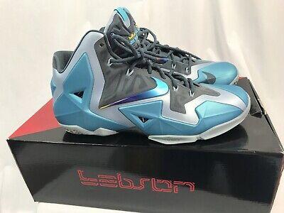 hot sale online 3000c fda50 Nike Lebron Xi South Beach Scarpe da Basket, Uomo Taglia 11 usato Spedire a  Italy