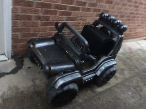 Toy kids battery JEEP $60 battery not included
