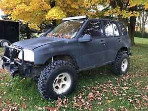 Off road Chevy tracker