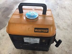 Working Warrior 2 stroke Generator For Sale Driver Palmerston Area Preview