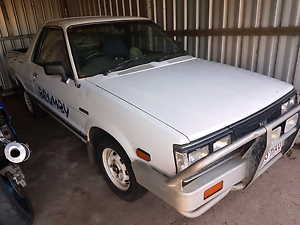 Subaru Brumby 1992 Ayr Burdekin Area Preview