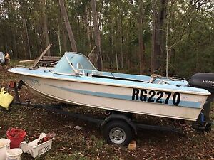 Seafarer 3.6m Boat with Mariner 25 outboard Karana Downs Brisbane North West Preview
