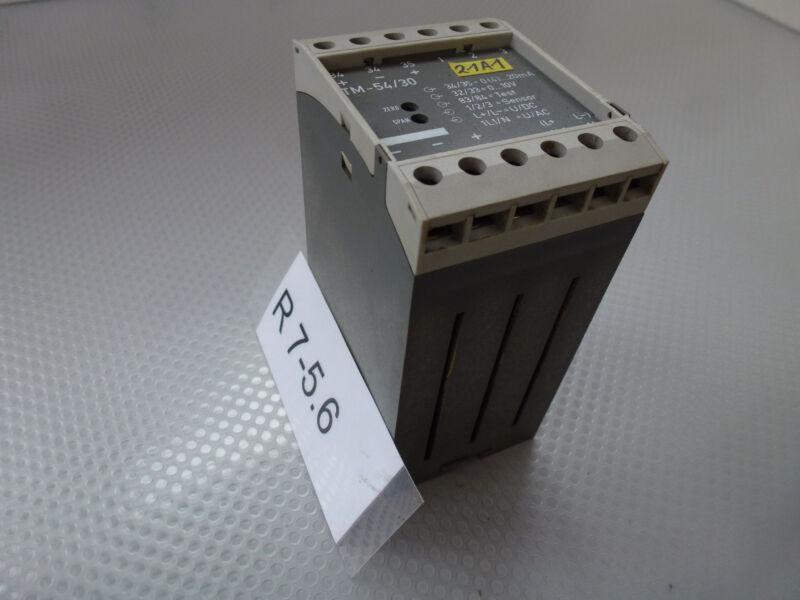 Jumo TM020w-54/30, Jumo TM-54/30 Transmitter Temperature Monitor