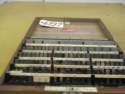 Starrett Model Rs81a1 Gage Block Set Ctam 6937