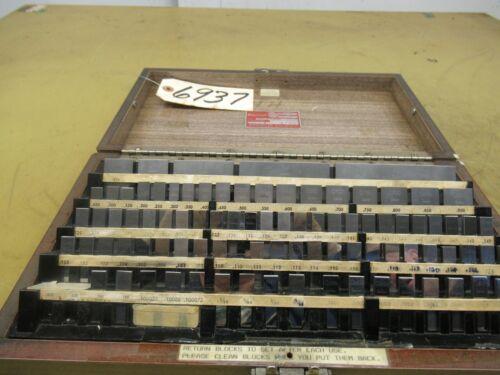Starrett Model RS81A1 Gage Block Set (CTAM #6937)