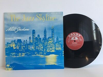Milt Jackson - The Jazz Skyline | Savoy Jazz Records 1986 | LP: Near Mint