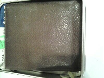 VINTAGE MEN BROWN SAMSONITE  LEATHER  BIFOLD/TRIFOLD   WALLET