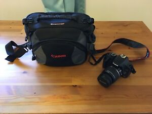 Canon Rebel XSI  450 D with tons of accessories