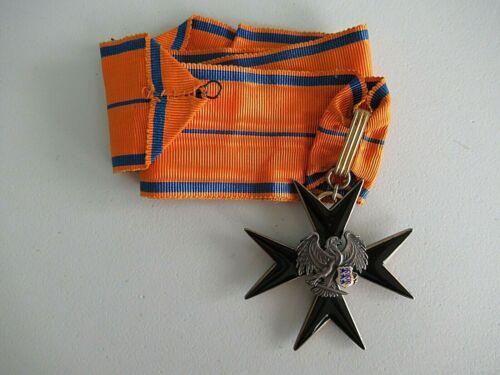 ESTONIA ORDER OF THE BLACK EAGLE COMMANDER GRADE. RARE EF!