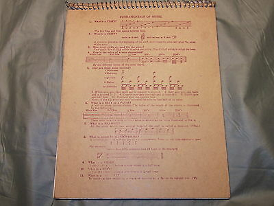 For sale vintage Music writing book Pressers belonging to Collingswood nj resident