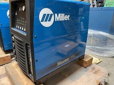 Miller Maxstar 350 1 Or 3 Phase - Tig Welder 907334