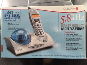 Olympia Digital Caller ID Cordless Phone