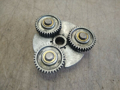 Vintage Craftsman 109 6 Lathe Headstock Spindle 3227 Geared Pulley .57 Bore