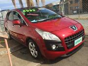 2012 PEUGEOT 3008 RED AUTOMATIC WAGON Nerang Gold Coast West Preview