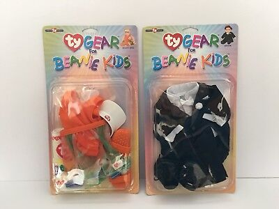 Ty Gear - Beanie Kids - Beach Girl And Groom Outfit.