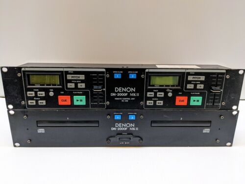 Denon DN-2000F MKII and Remote Control Units RC-35B (Link cable included)