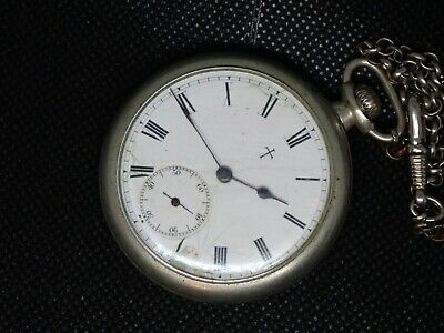 Antique INGERSOLL TRENTON 7 Jewel 3 FINGER BRIDGE Manual Wind Pocket Watch 16S ?