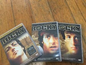 Rocky DVD set Rowville Knox Area Preview