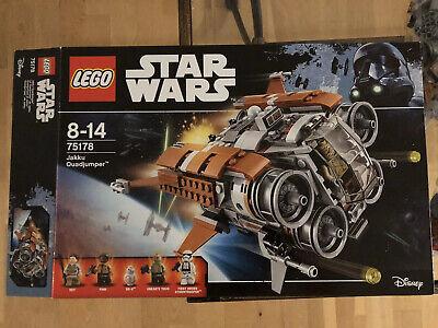 LEGO Star Wars 75178 Jakku Quad jumper - NO MiniFigures - Never Built