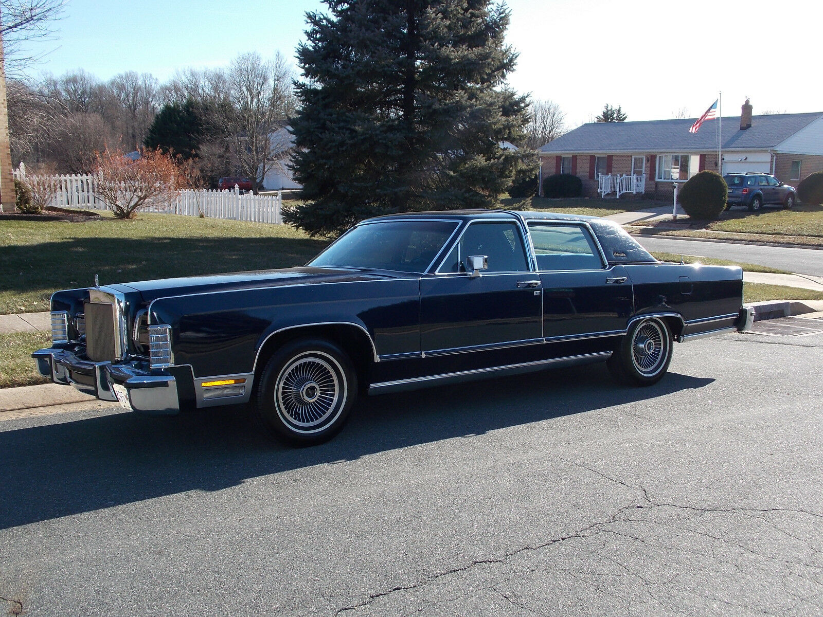 "1979 Lincoln Continental  1979 Canadian Lincoln Continental ""Collector Series""; Ex. Cond. 43K Orig miles"