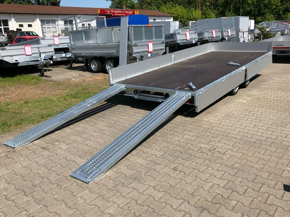 ⭐️ Eduard Auto Transporter 3000 kg 506x200x30 cm Rampen Winde 63 in Schöneiche bei Berlin