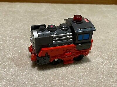 Fisher Price Geotrax Black Red Mining Coal Workin Town Train Engine NO REMOTE