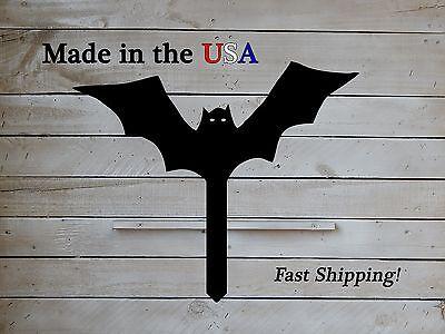 Scary Bat, Halloween Decor, Bat Sign, Holiday Sign, Kids Art, Yard Stake, S1096