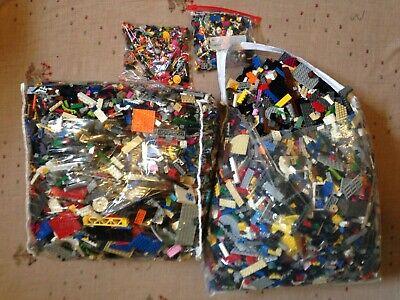LEGO 2 Pound Bulk Lot +2 Minifigures Star Wars Friends Superheroes City Bionicle