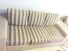 2 Piece Sofa Set - 3 seater, 2 seater with pull out bed Marsfield Ryde Area Preview