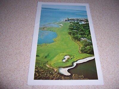 Harbour Town Golf (HARBOUR TOWN GOLF COURSE at SEA PINES PLANTATION HILTON HEAD SC. VTG POSTCARD)