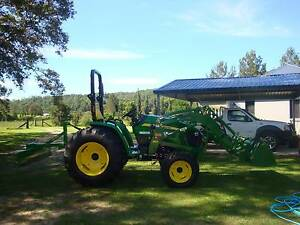 john deere 4105 compact utility tractor Brisbane City Brisbane North West Preview