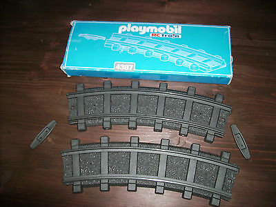 Playmobil RC Train 4387 gebogenes gleis mit OVP TOP Zustand