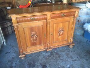 Nice antique pine sideboard